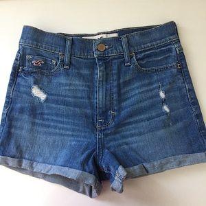 High Waist Jean Shorts Size 1
